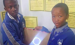 Article: Two South African Teens Create Groundbreaking Schoolbag That's Also a Light Source