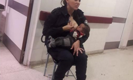 Artículo: Argentinian Police Officer Celebrated for Breastfeeding a Crying Baby