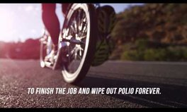 Video: Push for Polio - A world record attempt