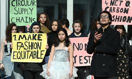 Article: Extinction Rebellion Protested at New York Fashion Week With a Sustainable Runway Show