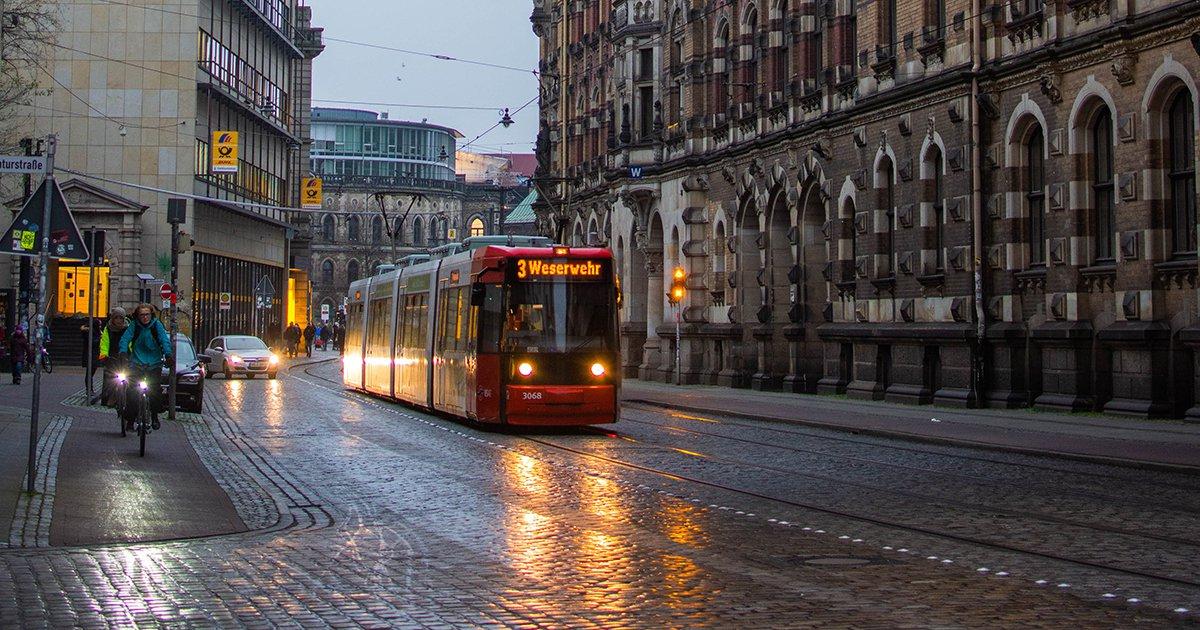 Buses Trains Trolleys - Carbon Footprint Tips