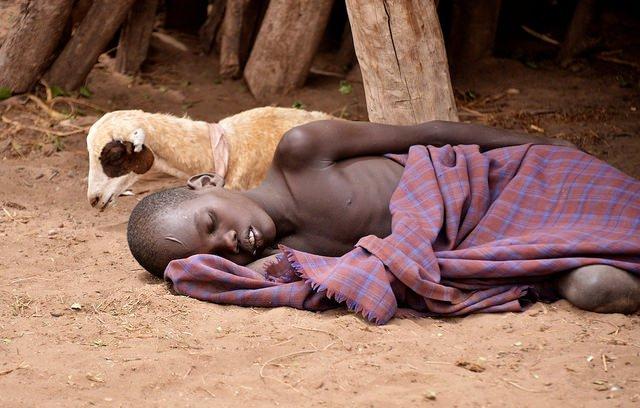 malaria patient