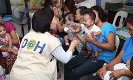 Article: The Philippines Commences Mass Vaccination Campaign to Protect Children Against Polio
