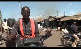 Video: Kevin Odwar, Motorbike taxi service, Nairobi, Kenya