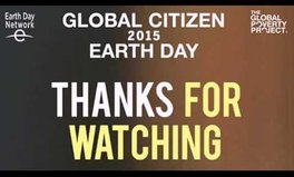 Video: Global Citizen 2015 Earth Day live blog