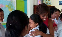 Video: It's time to Let Girls Learn and Michelle Obama is onboard