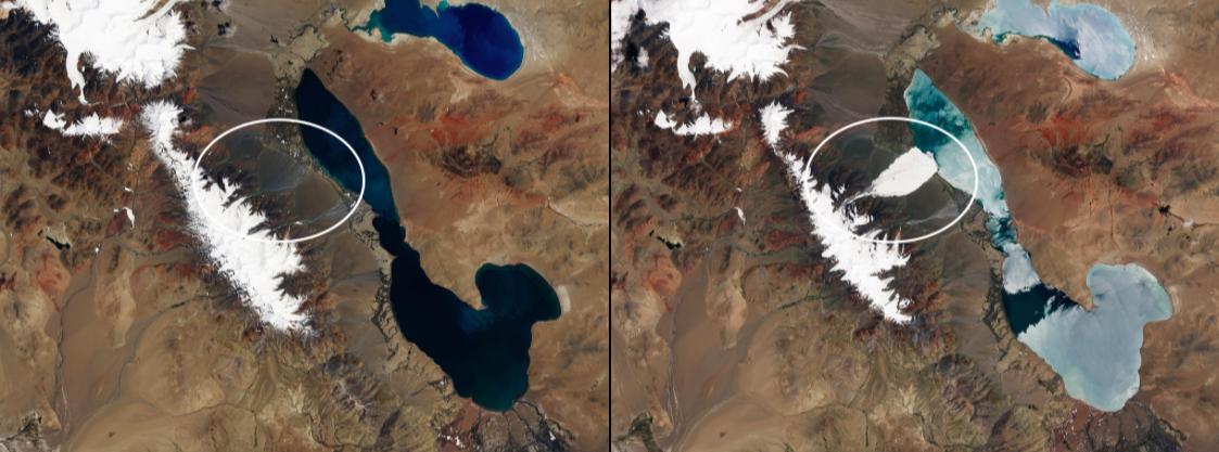 These NASA Satellite Images Show the Stunning Toll of ... on washington satellite map, california satellite map, nebraska satellite map, los angeles satellite map, texas satellite map, oahu satellite map, salt lake city satellite map,