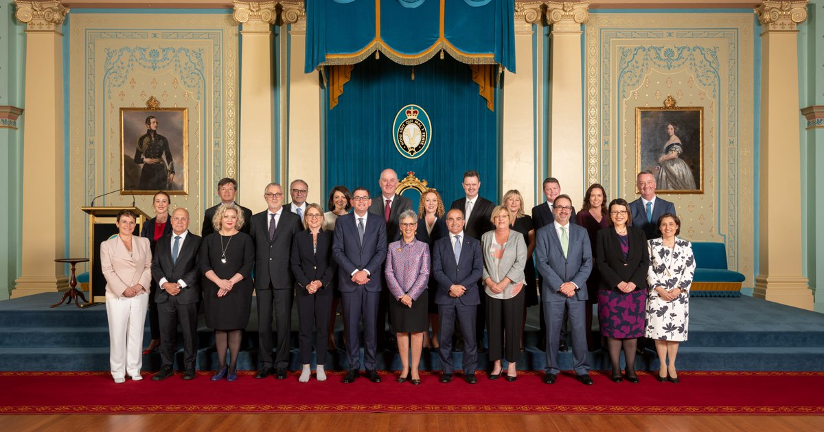 Victoria's State Government Has An Equal Gender Cabinet ...
