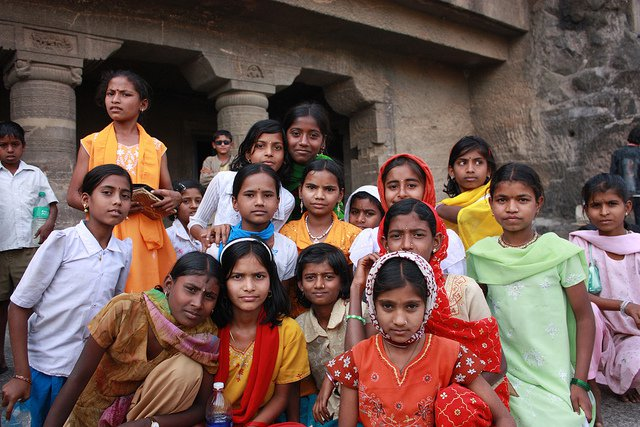 group of girls in india