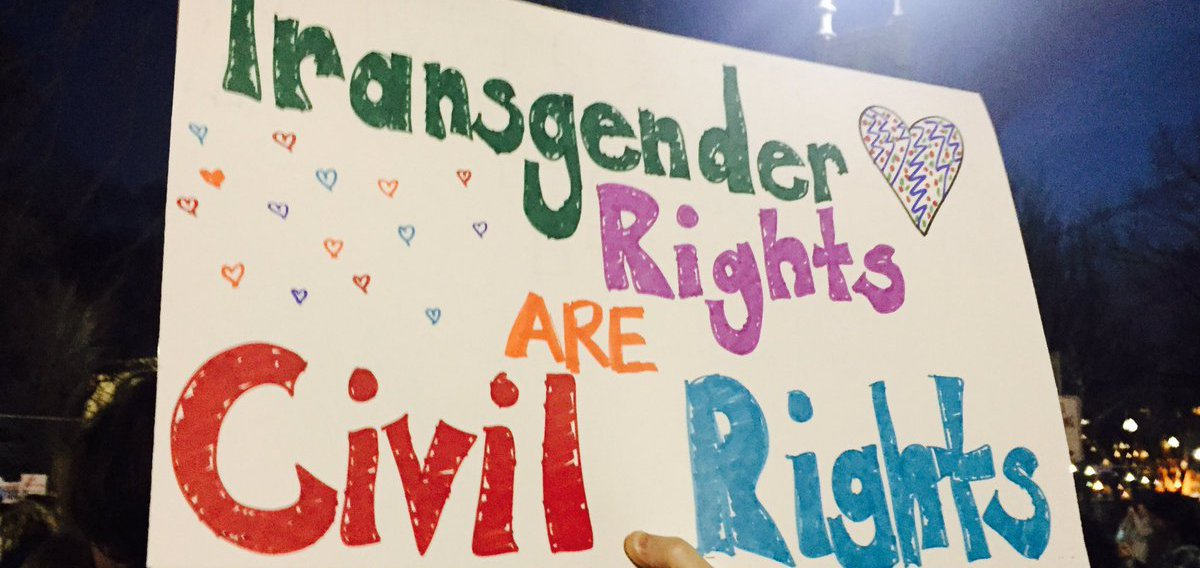 Bathroom Ruling Sparks An Outpouring Of Support For Trans Children - Transgender bathroom rights