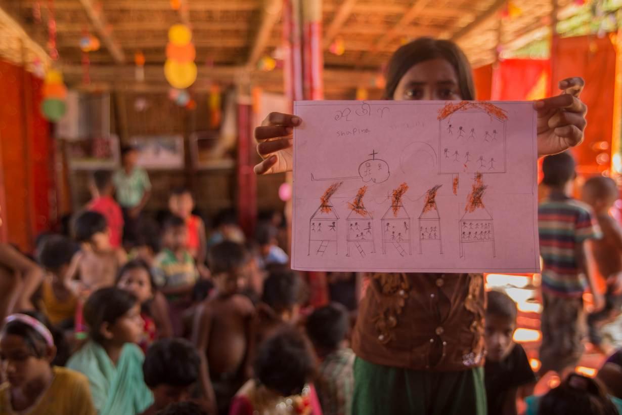 TRF Bangladesh Rohingya Sketch