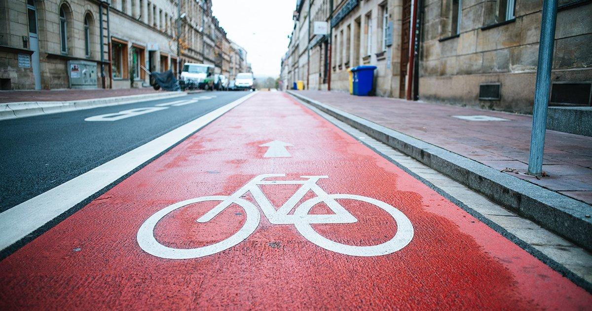 Bike Lane - Carbon Footprint Tips