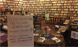 Article: This Bookstore Turned Books by Men Around to 'Silence' Male Voices