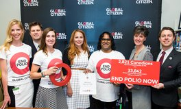 Article: Minister Bibeau Receives Polio Petition and Announces Attendance at Rotary Convention