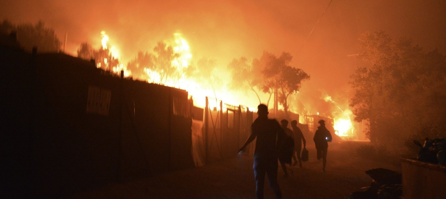 A Fire Has Decimated Europe's Largest Refugee Camp. Here's How You Can Help. - Global Citizen