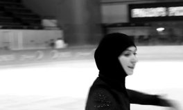 Video: Zahra Lari is determined to be the 1st person from her country at the Winter Olympics