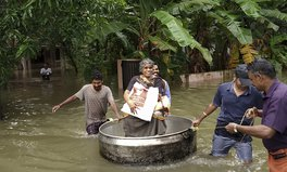 Article: Rescuers in Kerala, India, Rush to Save Flood Victims Trapped by Filthy Waters