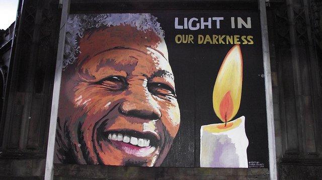 Nelson Mandela mural 3