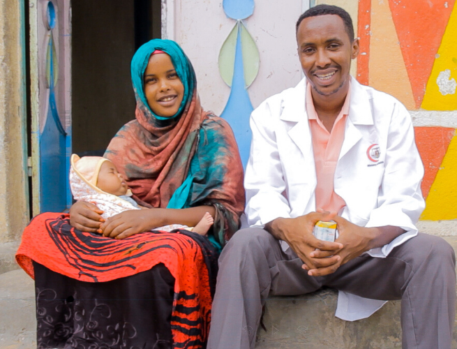 THET and UK aid are training doctors and nurses in Somaliland.