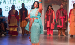 Article: Why These Acid Attack Survivors Danced Down a London Fashion Show Catwalk