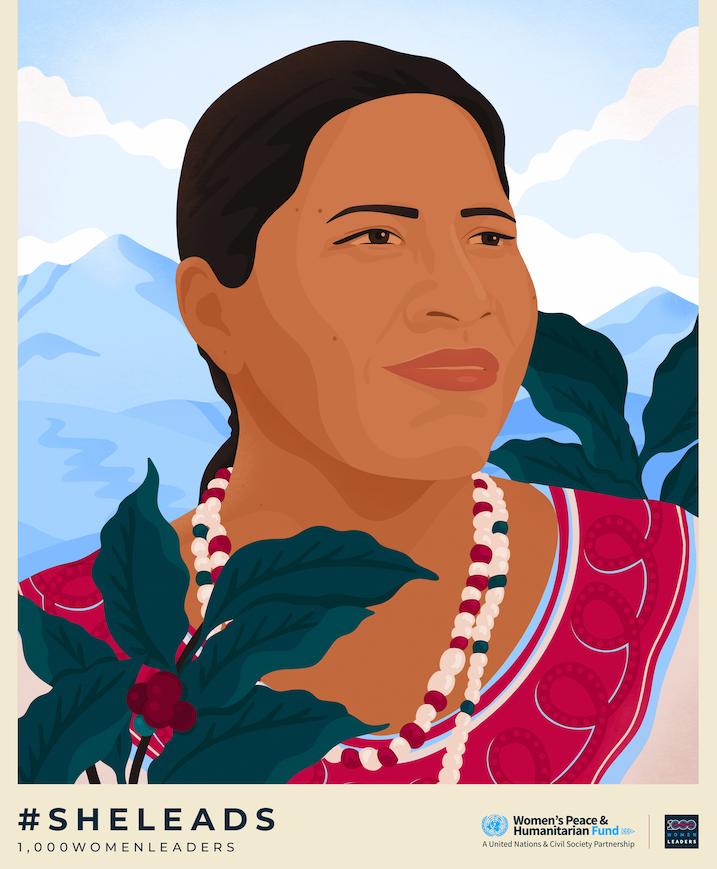 Maria Ximena Figueroa 1000WomenLeaders Portrait by Ariel Sinha.png