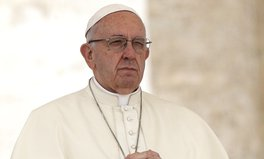 Article: Pope Francis Says Selling Water Is 'Incompatible' With Human Rights