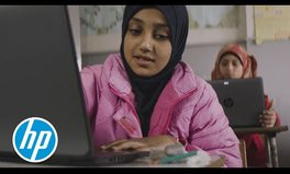 Video: How HP and the Clooney Foundation Are Working to Get Syrian Refugees in School