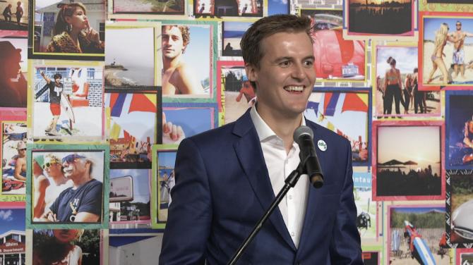 Hugh Evans_2015 Global Citizen Festival Launch Party
