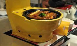 Article: Would you eat out of a toilet bowl?