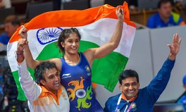 Article: India Cheers First Woman Wrestler to Win Gold at Asian Games