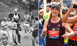 Article: Kathrine Switzer, First Woman to Complete Boston Marathon, Finishes Race Again, 50 Years Later
