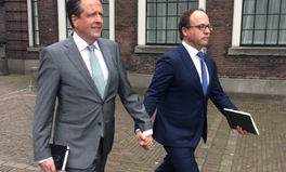Article: Straight Men Are Holding Hands in LGBT Solidarity in the Netherlands