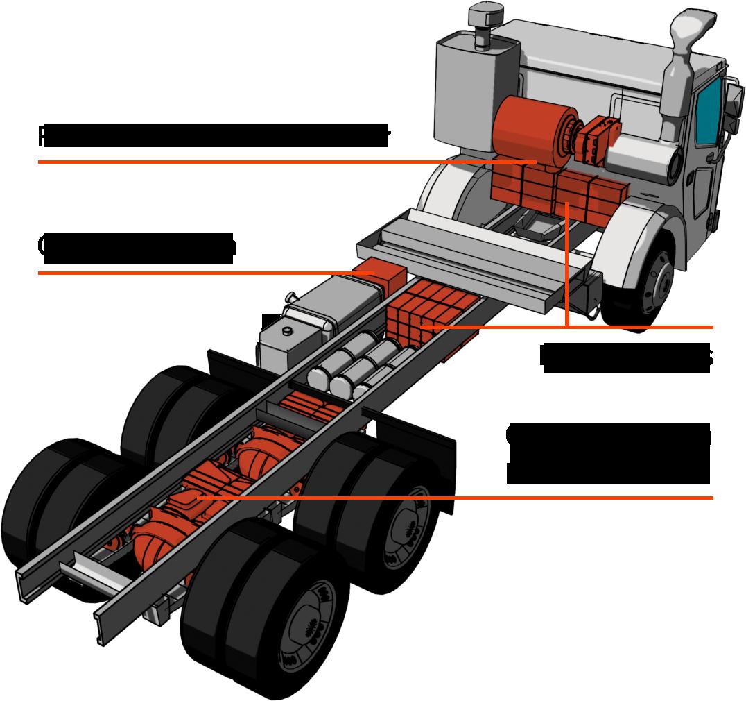 Electric-garbage-trucks-Wrightspeed-Tesla-BODY- Route 1000 diagram.png