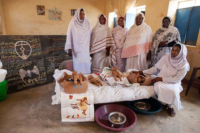 This school in Sudan trains midwives to end FGM