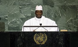 Article: The Gambia Nearly Bankrupt as Exiled Former President Steals $11 Million