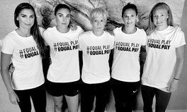 Article: US women's soccer team now plays with 'Equal Pay' jerseys