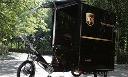 Artikel: Umweltfreundlicher Zusteller: Nächstes UPS-Paket könnte mit E-Bike ankommen