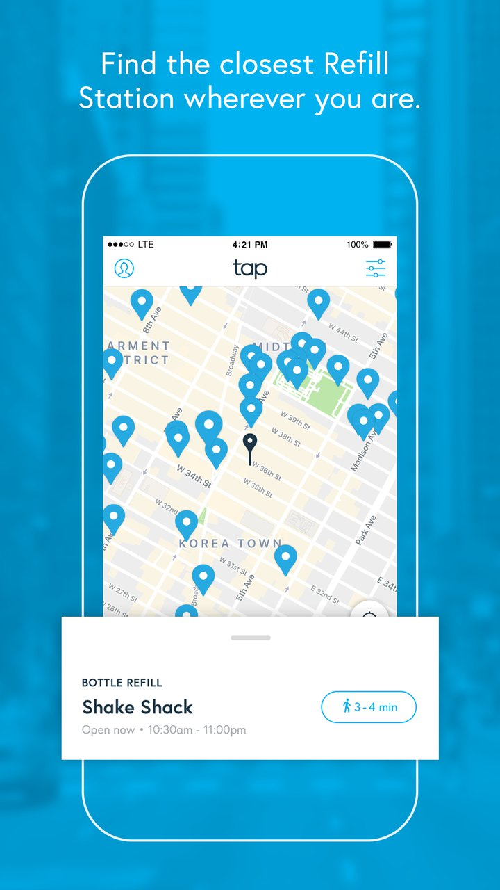 Tap App Screenshot