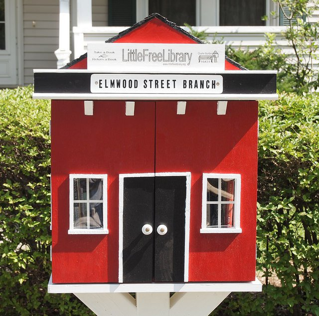 Little Free Library - Elmwood Street