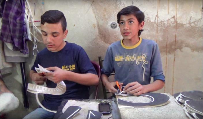 child labor in syria