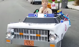 Article: This Kid's Ecto-1 Costume Totally Wins Halloween