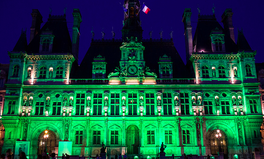 Article: Buildings Around the World Turned Green as Rebuke to Trump's Paris Decision