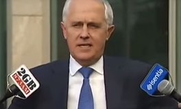 Video: Did Turnbull just agree to up Australian aid?