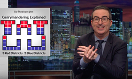 Article: Congress Gets to Redraw Voting District Lines — John Oliver Explains Why That's Incredibly Important