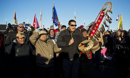 Article: North Dakota Pipeline Spills Crude Oil Into Creek 150 Miles from Standing Rock