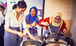Article: Meghan Markle Has Been Secretly Visiting This Grenfell Community Kitchen Since January