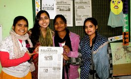 "Article: This 18-year-old girl runs a newspaper that gives Delhi's ""street children"" a voice"