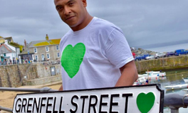 Article: The UK's First Street Sign Honouring the Victims of Grenfell Tower Is Unveiled in Cornwall