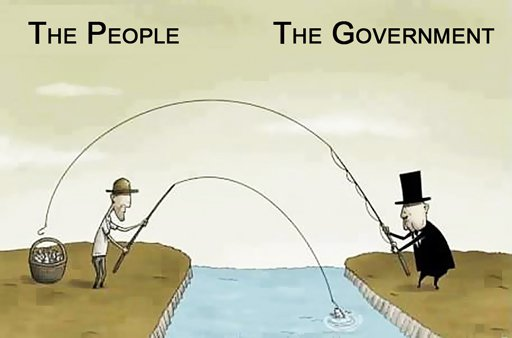 A bunch of rich leaders just stole aid money from the poorGovernment Stealing Money