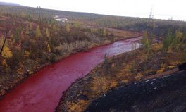 Article: This River in Russia Has Turned Blood Red